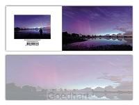 Panoramawenskaart zt noorderlicht NL