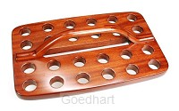 Avondmaal cup tray 25 cups hout 30.3x19c