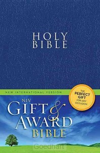 Holy Bible NIV blauw