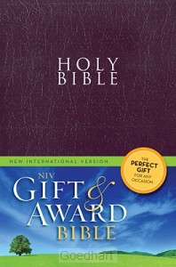 Holy Bible NIV paars