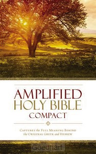 Amplified Compact Bible Colour Hardcover