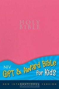 Holy Bible NIV roze