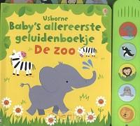 Baby's allereerste geluidenboekje De zoo