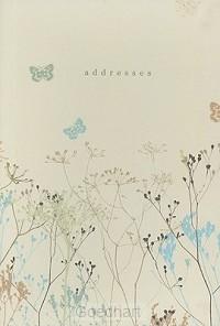 Butterflies adressbook