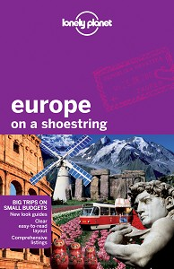 *LONELY PLANET EUROPE ON A SHOESTRING DR