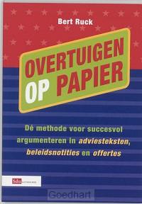 Overtuigen op papier / druk 1