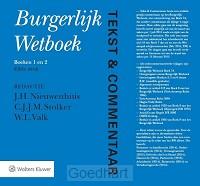 Burgerlijk wetboek boek 1 en 2 set 3 ex