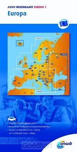 ANWB Wegenkaart Europa 1