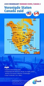 ANWB Wegenkaart Verenigde Staten/Canada