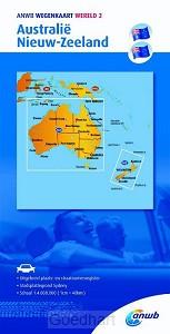ANWB wegenkaart Wereld 2. Australië/Nieu
