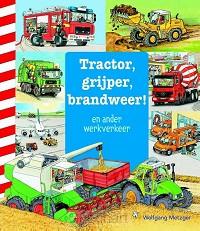Tractor, grijper, brandweer en ander wer