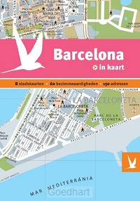 Barcelona in kaart