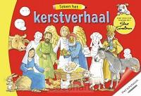 Teken het kerstverhaal