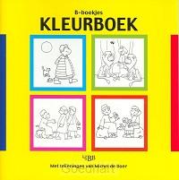 B-boekje Kleurboek-geel