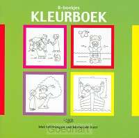 B-boekjes kleurboek groen