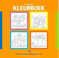B-boekjes kleurboek oranje