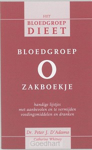 Bloedgroep O zakboekje