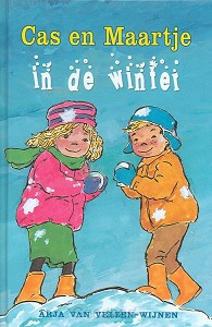 Cas en maartje in de winter
