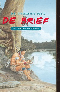 Indiaan met de brief