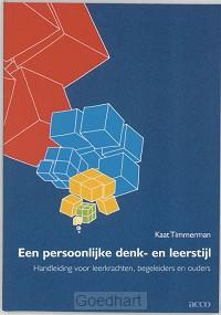 Een persoonlijke denk- en leerstijl / dr