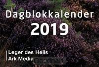 Dag in dag uit 2019 blok + schild