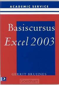 Basiscursus Excel 2003 / druk 1