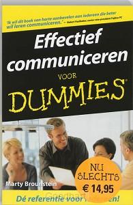 Effectief communiceren voor Dummies / dr