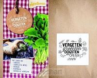 Vergeten groenten oogsten en opeten
