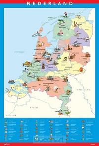 Topo Poster Nederland