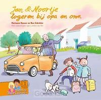 Jan Noortje logeren bij opa en oma