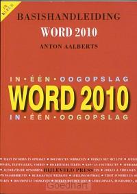 Basishandleiding Word 2010 in ÚÚn oogops