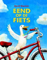 Eend op de fiets / druk 1
