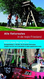 Alle fietsroutes in de regio Friesland /