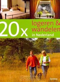 20 x logeren en wandelen in Nederland /