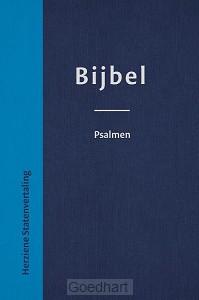 bijbel Hsv met psalmen blauw