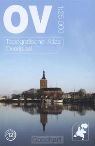 Topografische atlas van Overijssel schaa