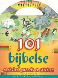 101 bijbelse verhalen, puzzels en sticke