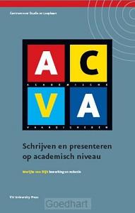 ACVA schrijven en presenteren op academi