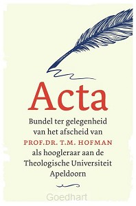 Acta afscheid T.M. Hofman