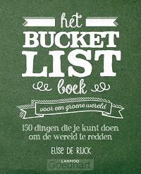 Het Bucketlist boek voor een groene were
