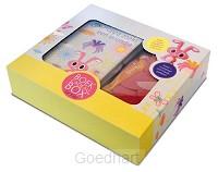 Boekcadeaubox for kids - viltpakket Hopa