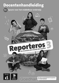 3 Libro del profesor / Reporteros / Doce