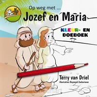 Jozef en Maria kleur- en doeboek