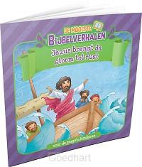 Jezus brengt de storm tot rust
