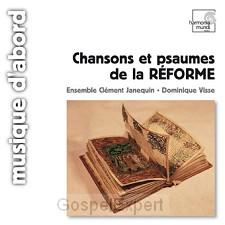 Chansons et psaumes de la Reformation