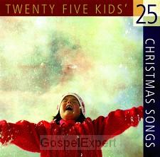 25 Kid's Christmas Songs (CD)