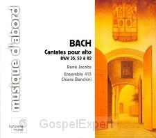 Cantates Pour Alto BWV 35, 53 & 82