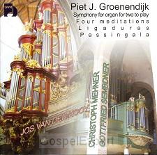 Organ Works - Piet J. Groenendijk