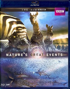 Nature's Great Events Blu-Ray