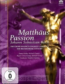 Matthaus passion 3cd + DVD
